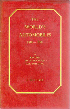 The World's Automobiles 1880 - 1958