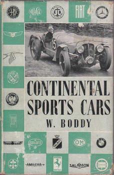 Continental Sports Cars  by W.Boddy (1951)