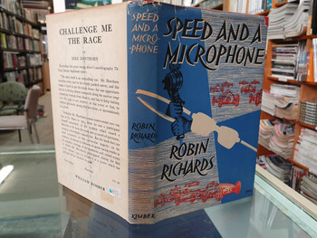 Speed and a Microphone. An Introduction to Motor Sport (Hardcover, by Richards Robin)