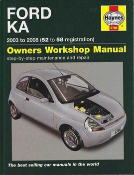 Ford KA 2003 - 2008 Workshop Manual