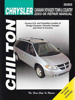 chrysler voyager 2003 factory service repair manual