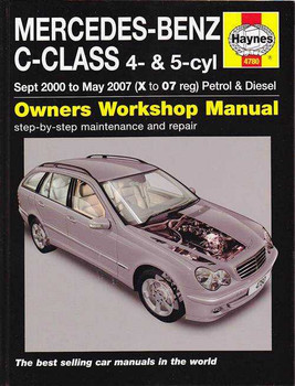 Mercedes-Benz C-Class 4 - 5 Cylinder Petrol, Diesel 2000 - 2007 Workshop Manual