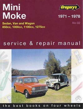 Mini Moke 850cc, 1000cc, 1100cc, 1275cc 1971 - 1978 Workshop Manual