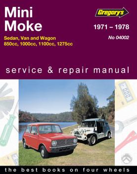 Leyland Mini (71-78), Moke (71-82) Gregorys Repair Manual
