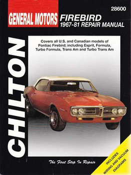 Pontiac Firebird 1967 - 1981 Workshop Manual
