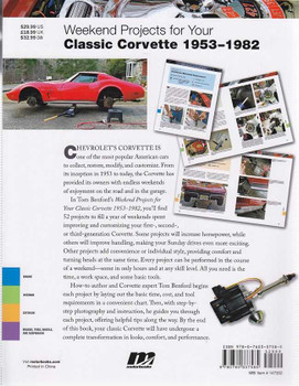 Weekend Projects for Your Classic Corvette 1953 - 1982