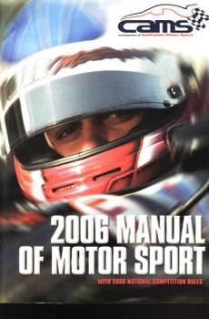 2006 Manual Of Motor Sport