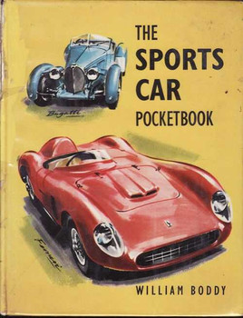 The Sports Car Pocketbook (William Boddy, hardcover, 1963)