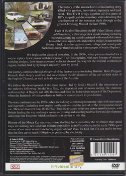 History Of The Motor Car DVD