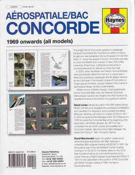 Aerospatiale BAC Concorde 1969 onwards (All Models) Workshop Manual