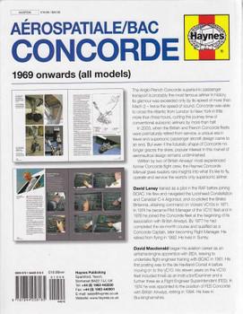 Aerospatiale BAC Concorde 1969 onwards (All Models) Workshop Manual