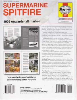 Supermarine Spitfire 1936 onwards (all marks) Workshop Manual