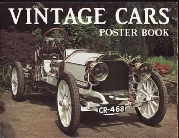 Vintage Cars Poster Book