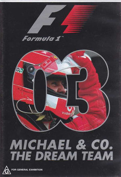 Formula One 2003: Michael and CO. The Dream Team DVD