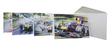 Australian Motorsport Postcards Set