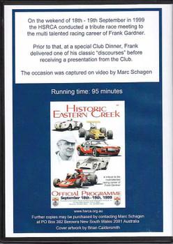 Frank Gardner DVD