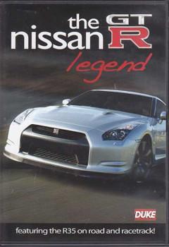 The Nissan GTR Legend (featuring R35) DVD