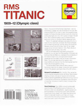 RMS Titanic 1909 - 1912 (Olympic Class) Owners' Workshop Manual