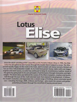Lotus Elise Haynes Enthusiast Guide