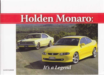Holden Monaro: It's a Legend (signed by the Author)