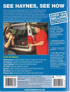 Volvo V70 and S80 1998 - 2007 Workshop Manual