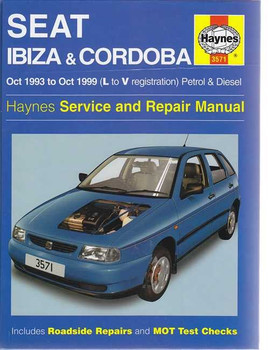 Seat Ibiza and Cordoba Petrol & Diesel 1993 - 1999 Workshop Manual