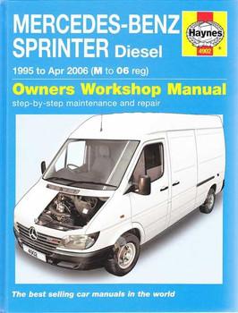 Mercedes-Benz Sprinter Diesel 1995 - 2006 Workshop Manual