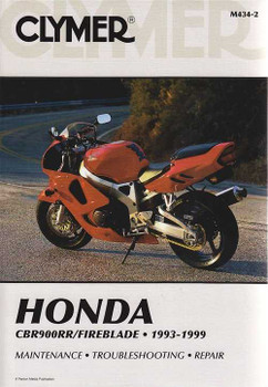 Honda CBR900RR, Fireblade 1993 - 1999 Workshop Manual