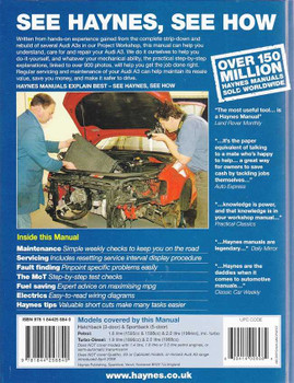 Audi A3 2003 - 2008 Petrol and Diesel Workshop Manual
