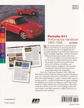 Porsche 911 Performance Handbook 1963 - 1998 (3rd edition)