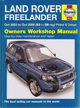 Land Rover Freelander Petrol and Diesel 2003 - 2006 Workshop Manual
