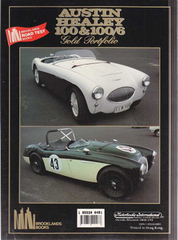 Austin Healey 100 and 100/6 1952 - 1959 Gold Portfolio