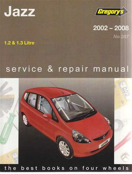 Honda Jazz 1.2L, 1.3L 2002 - 2008 Workshop Manual