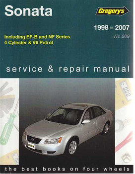 Hyundai Sonata incl. EF-B, NF 1998 - 2007 Workshop Manual