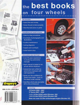 Ford Focus LS, LT Series Petrol 2005 - 2009 Workshop Manual