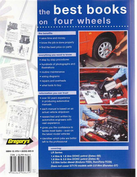 Ford Focus LR Series Petrol, Diesel 2002 - 2005 Workshop Manual