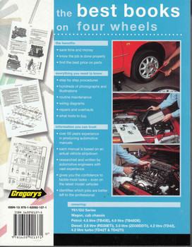 Nissan Patrol Y61 / GU Series Petrol, Diesel 1998 - 2014 Workshop Manual