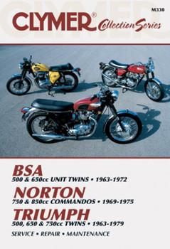 BSA Twin - Norton Commandos - Triumph Twins Motorcycle (1963-1979) Service Repair Manual