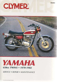 Yamaha TX650, XS1, XS2, XS650 650cc Twins 1970 - 1982 Workshop Manual