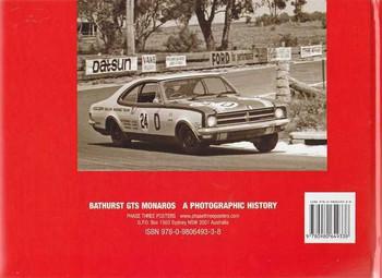 Bathurst GTS Monaros A Photographic History (Hard Cover Book)