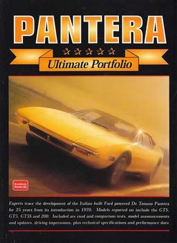De Tomaso Pantera Ultimate Portfolio