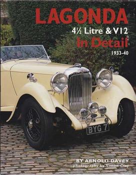 Lagonda 4 1/2 Litre & V12 In Detail 1933 - 1940