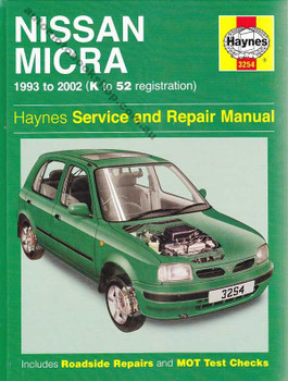 Nissan Micra 1993 - 2002 Workshop Manual