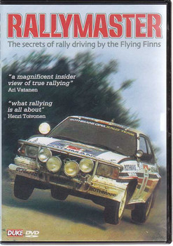 Rallymaster: The secrets of rally driving by the Flying Finns DVD