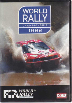 World Rally Championship 1998 DVD