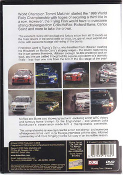 World Rally Championship 1998 DVD