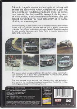 World Rally Championship 1992 DVD