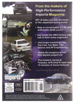 High Performance Imports V6 DVD