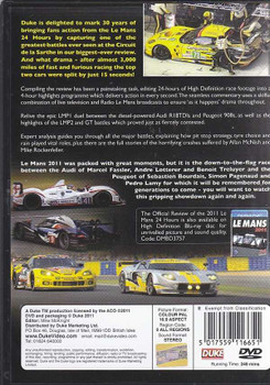 Le Mans 2011: The Official Review of The World's Greatest Endurance Race DVD/Bluray