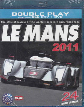 Le Mans 2011: The Official Review of The World's Greatest Endurance Race DVD/Bluray - front